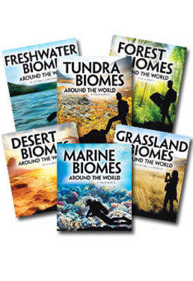 Exploring Earth's Biomes Set of 6 by null