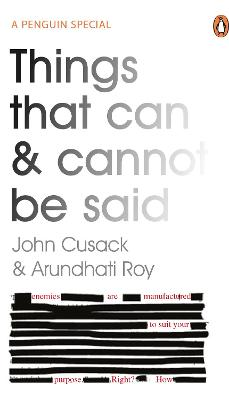 Things That Can and Cannot Be Said book