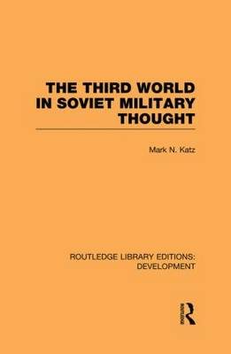Third World in Soviet Military Thought book