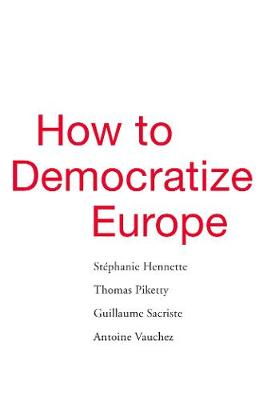 How to Democratize Europe book