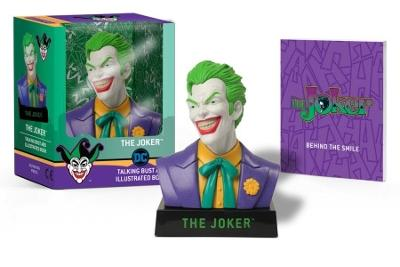 The Joker Talking Bust and Illustrated Book by Matthew K. Manning