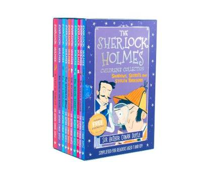 The Sherlock Holmes Children's Collection: Shadows, Secrets and Stolen Treasure by Arianna Bellucci