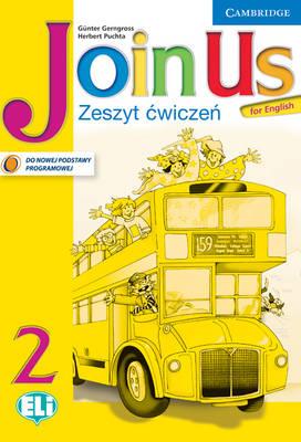 Join Us for English Level 2 Activity Book Polish ediiton book