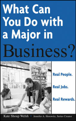 What Can You Do with a Major in Business? book