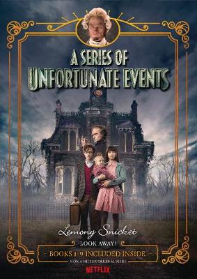 A Series of Unfortunate Events #1-9 Netflix Tie-in Box Set by Lemony Snicket