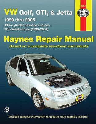 HM VW Golf GTI & Jetta 1999-2005 by Haynes