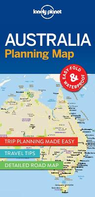 Lonely Planet Australia Planning Map by Lonely Planet
