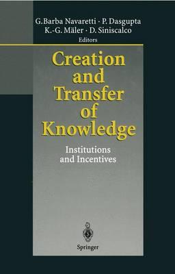 Creation and Transfer of Knowledge by Giorgio Barba Navaretti