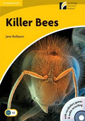 Killer Bees Level 2 Elementary/Lower-intermediate American English Book with CD-ROM and Audio CD Pack by Jane Rollason
