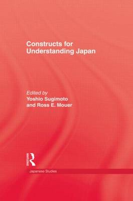 Constructs for Understanding Japan by Sugimoto