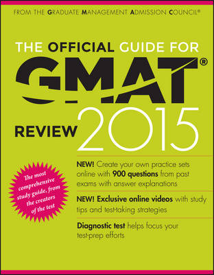 The Official Guide for Gmat (R) Review 2015 with Online Question Bank and Exclusive Video by Graduate Management Admission Council (GMAC)