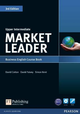 Market Leader 3rd Edition Upper Intermediate Coursebook & DVD-Rom Pack by David Cotton
