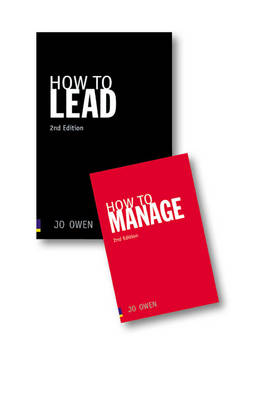 Value Pack: How to Lead/How to Manage pk by Jo Owen