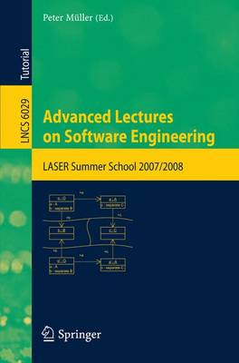 Advanced Lectures on Software Engineering by Peter Muller