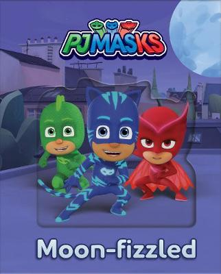 Pj Masks Moon-fizzled Lenticular Storybook by