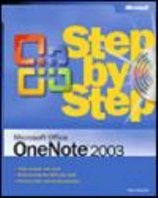 Microsoft Office OneNote 2003 Step by Step by Peter Weverka