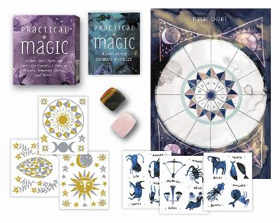 Practical Magic: Includes Rose Quartz and Tiger's Eye Crystals, 3 Sheets of Metallic Tattoos, and More! by Nikki Van de Car