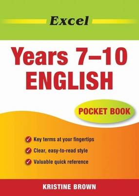 Excel English Pocket Book: Years 7-10 by Kristine Brown