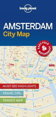 Lonely Planet Amsterdam City Map by Lonely Planet