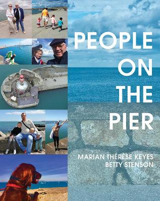 People on the Pier by Marian Therese Keyes