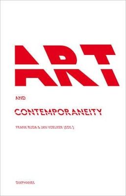 Art and Contemporaneity book