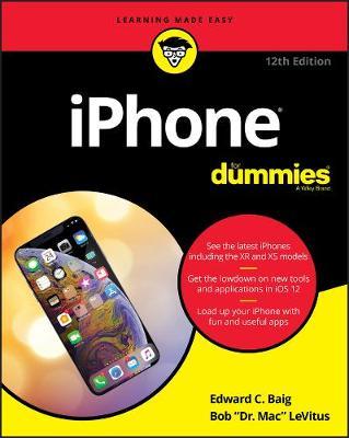 iPhone For Dummies by Edward C. Baig