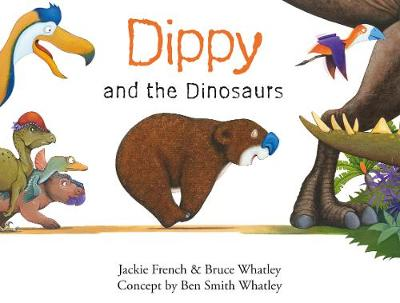 Dippy and the Dinosaurs (Dippy the Diprotodon, #2) by Jackie French
