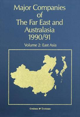 Major Companies of the Far East and Australasia  v. 2 by J. Carr