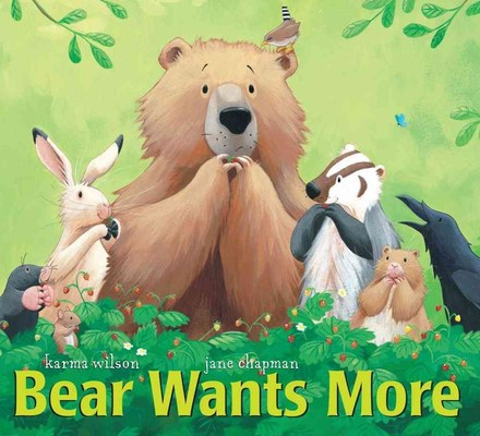 Bear Wants More book