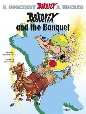 Asterix: Asterix and the Banquet by Rene Goscinny