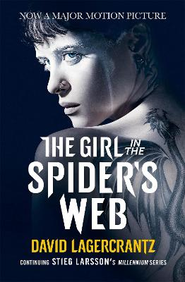 The Girl in the Spider's Web: A Dragon Tattoo story book