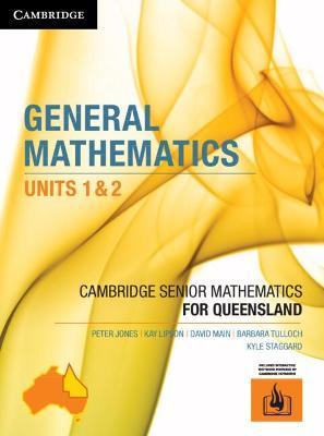 CSM QLD General Mathematics Units 1 & 2 by Peter Jones