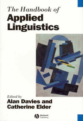 The Handbook of Applied Linguistics by Alan Davies