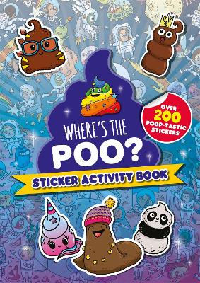 Where's the Poo? Sticker Activity Book book