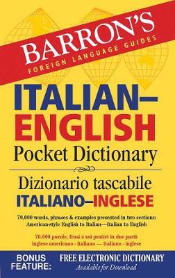 Barron's Italian-English Pocket Dictionary by Roberta Martignon-Burgholte