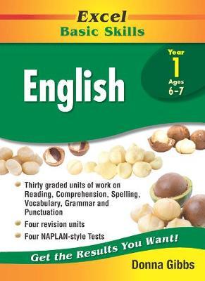 Excel Basic Skills - English Year 1 by Donna Gibbs