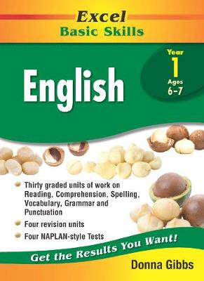 Excel Basic Skills - English Year 1 by Donna Gibbs