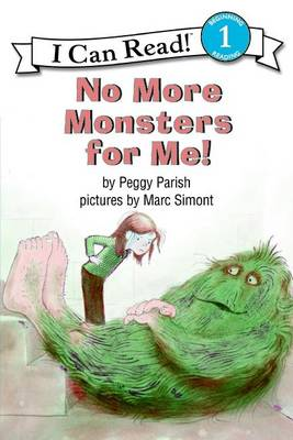 No More Monsters for Me! book