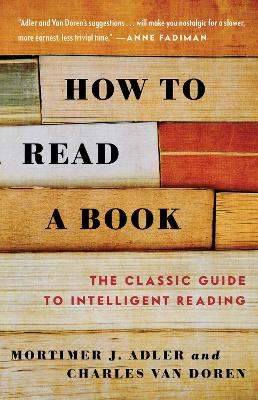 How to Read a Book by Charles Van Doren