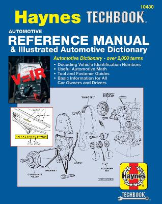 Automotive Reference Manual and Illustrated Automotive Dictionary book