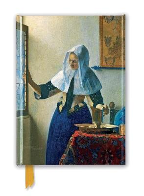 Johannes Vermeer: Young Woman with a Water Pitcher (Foiled Journal) book