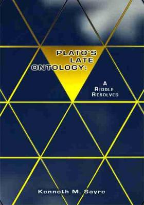 Plato's Late Ontology book