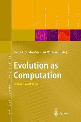 Evolution as Computation book