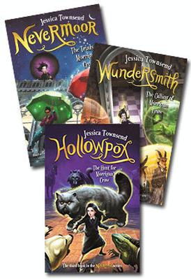 Nevermoor Set of 3 by Jessica Townsend