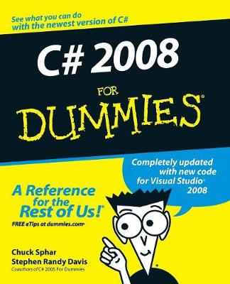C# 2008 For Dummies book