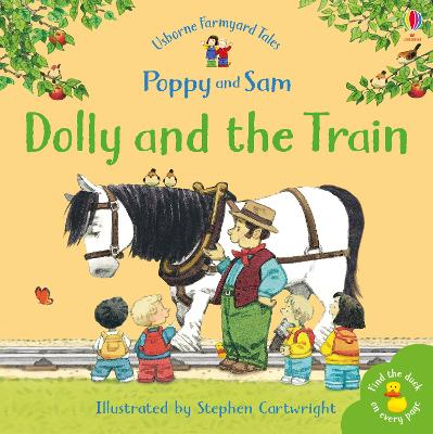 Dolly And The Train by Heather Amery
