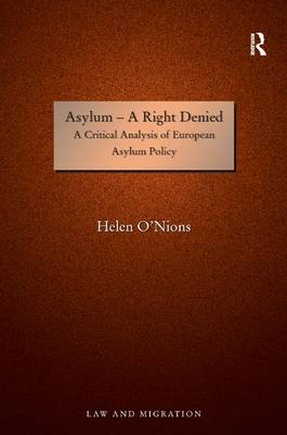Asylum - A Right Denied book