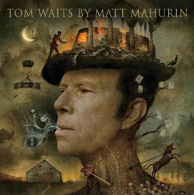 Tom Waits by Matt Mahurin by Matt Mahurin