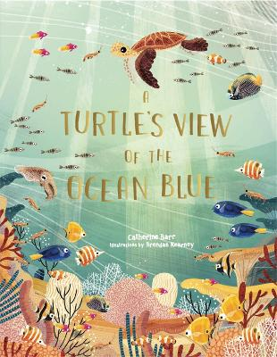 A Turtle's View of the Ocean Blue book