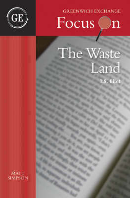 Waste Land by T.S. Eliot book